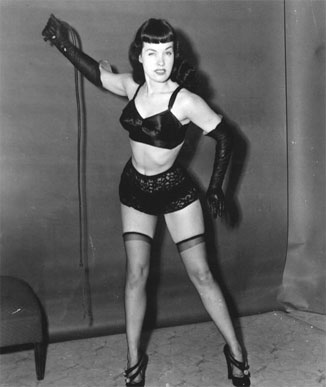 Bettie Page Photos